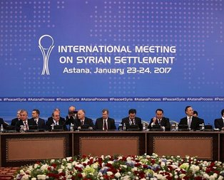 Astana görüşmelerinin ilk günü sona erdi