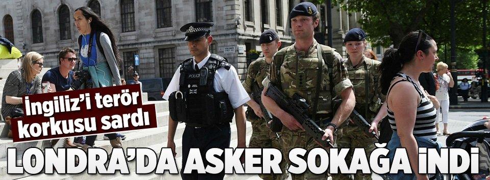 Londrada önemli binaları silahlı askerler koruyacak