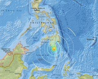 Filipinlerde 6,8 büyüklüğünde deprem