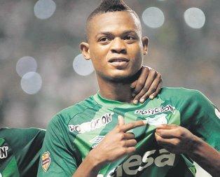Aslan'a Kolombiyalı golcü Harold Preciado