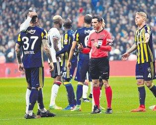 F.Bahçe-Beşiktaş derbisini Palabıyık yönetecek