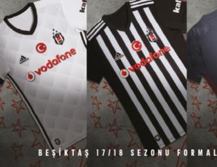 İşte Beşiktaş'ın yeni sezon formaları