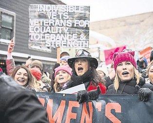Dünya kadınları Trump'a karşı