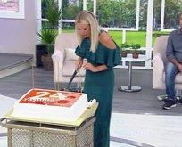 Esra Erol, atvnin yeni yaşını kutladı!