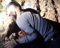 Bombalı eylem için şehre inen terörist...