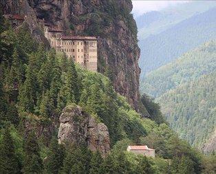 Sümela Manastırın da büyük yenilik