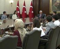 Başbakan Yıldırım, Çankaya Köşkünde çocukları kabul etti