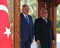 Başbakan Yıldırım, İbadi ile görüştü