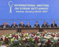 Kritik toplantı başladı! Suriyenin kaderi değişiyor