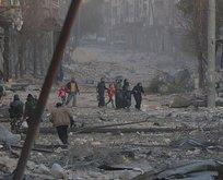 Esed rejimi sivilleri katletmeye devam ediyor