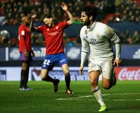 Real Madrid 3 puanı 3 golle aldı
