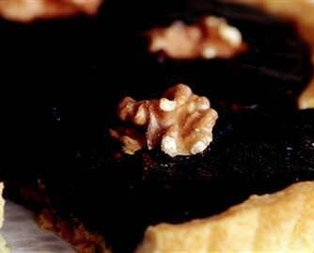 Cevizli Çikolatalı Tart Tarifi