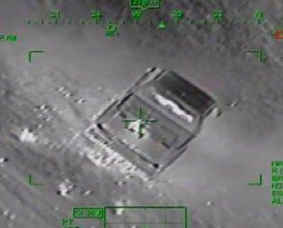 PKKnın bomba yüklü aracı imha edildi