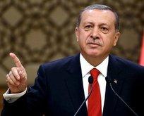 Erdoğan: Dünyaya rezil rüsva edeceğiz