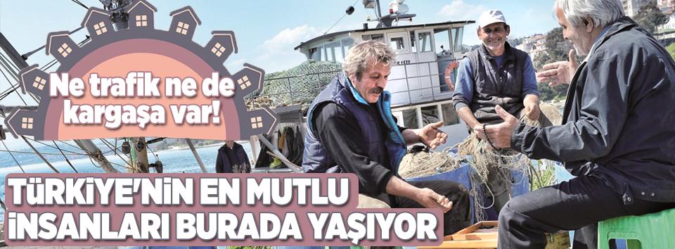Türkiyenin mutluluk haritası