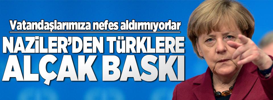Alman istihbaratından Türklere alçak baskı