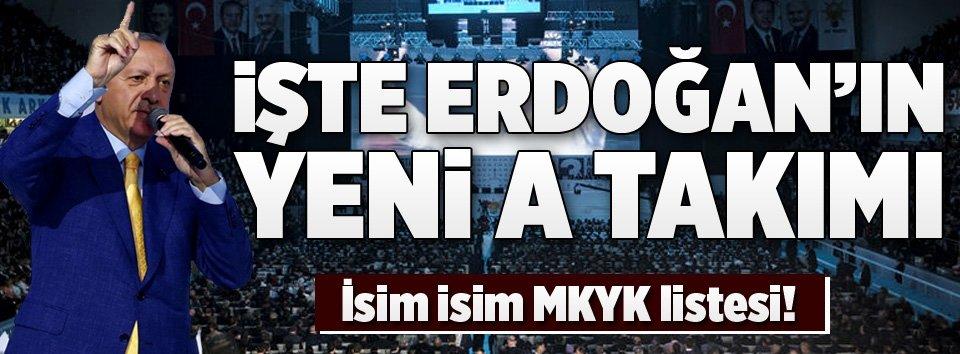 AK Partinin yeni MKYK listesi