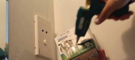 Süt kutusundan bakın ne yaptı!
