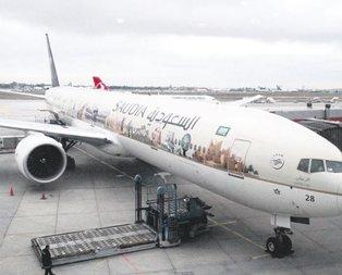 Kabe tasarımı uçakta