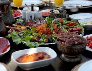 Ramazan'da bu yiyeceklere sofralarınızda yer açın