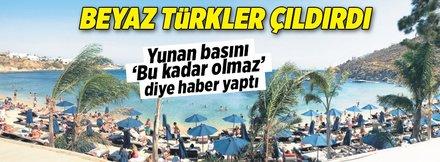 Beyaz Türkler çıldırdı