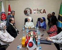 Emine Erdoğan, Tanzanyada TİKA ofisinin açılışını yaptı