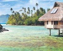 Himmet parasıyla Maldivler