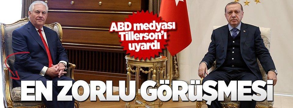 Tillersonın Türkiye ziyareti ABD medyasında geniş yankı buldu