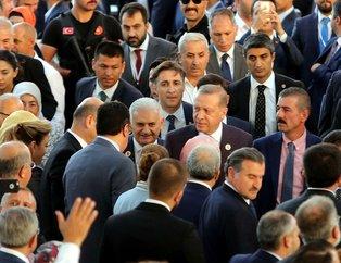 AK Parti'nin 16. kuruluş yıl dönümünden kareler