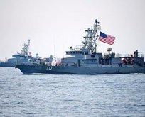 ABD savaş gemisi, İran gemisine ateş açtı!