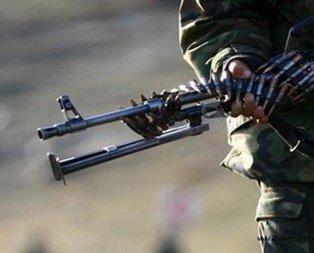 Kalleşler üs bölgesine yemek götüren askeri araca saldırdı