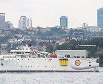 Milli sismik gemi hizmete hazır