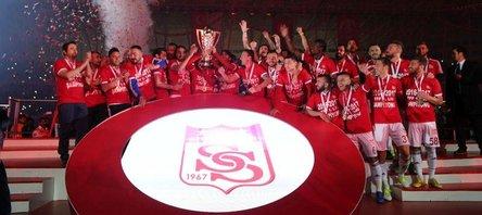 TFF 1. Ligde Sivasspor şampiyon oldu