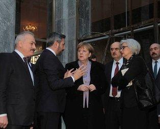 Merkel TBMM'yi ziyaret etti