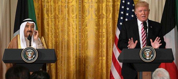 Trump: Katar krizinde arabulucu olabilirim