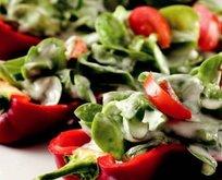Biber Yatağında Semizotu Salatası Tarifi