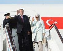Cumhurbaşkanı Erdoğandan yurt dışına 86 ziyaret