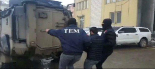 Kalleşler saldırı hazırlığında yakalandı