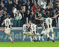 Juventus, Milanı son dakika golüyle yendi