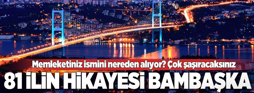 Türkiyedeki şehirlerin eski isimleri