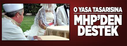 Müftülerin nikah kıyma yetkisine MHP'den destek!