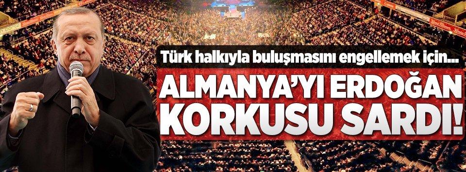 Almanyayı Erdoğan korkusu sardı