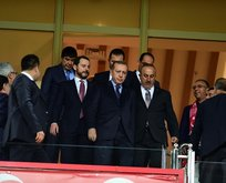 Cumhurbaşkanı Erdoğan, Antalya Stadında