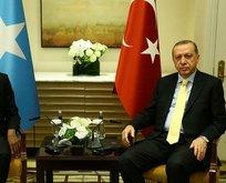 Erdoğan Somali Başbakanını kabul etti
