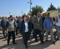 HDP yine terörist cenazesinde