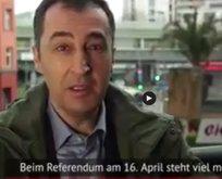 Türkiye düşmanı Cem Özdemirden bir skandal daha