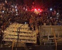 Mescid-i Aksadaki bariyerler de kaldırıldı