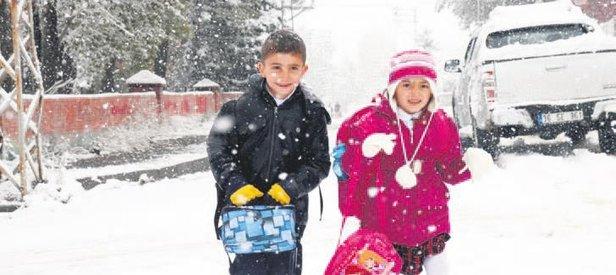 Erzurum ve Kars beyaza büründü