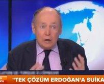 Canlı yayında Erdoğana suikast istedi!