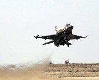 İsrail jetleri Suriyeyi vurdu